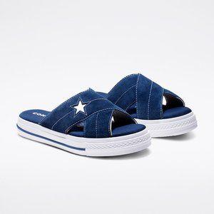 Converse Womens One Star Slip-On Sandal 564147C